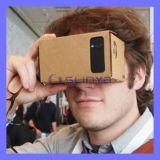 The Hottest 5.5 Inch with NFC Function Integrated DIY Google Cardboard Glasses
