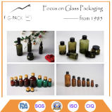 Clear, Amber, Green, Blue and Other Painting Color Glass Oil Bottle