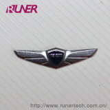 Auto Industry Electroform Nickel Logo Sticker Electroforming