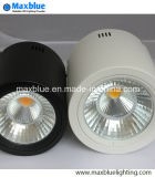 15W Black/White Dimmble Open Mount LED Downlight