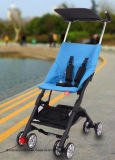 Aluminium Alloy Portable Pushchairs Folded Baby Trolley