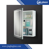 Lighted Bathroom Mirrored Wall Cabinet