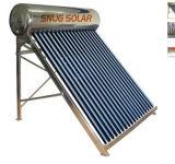 Unpressurized Vacuum Tube Solar Boiler, 80L-500L