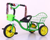 China Kids Bike Baby Tricycle Twin Baby Tricycle with Two Seat