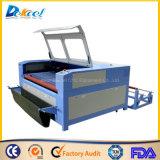 Dek-1810 Textile Auto-Feeding CO2 Laser Cutting Machine Double Cutting Head