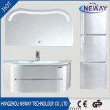 PVC Waterproof Modern Bathroom Cabinet with LED Mirror
