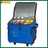 Trolley Wheeled Picnic Cooler Bag Rolling Cooler Bags (TP-CB116)
