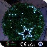 LED Tinsel Christmas Ball Motif Lights