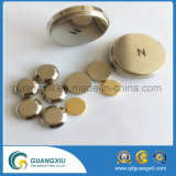N35~N55 Grade Customized Gold Coated Permanent Neodymium Magnet Manufacturer