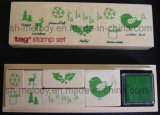 Christmas Wooden Stamp Kit/Rubber Stamp Kit for Paper Crafts