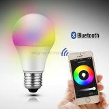 Wireless Bluetooth Speaker Smart LED Light Bulb Free APP 6W E27 Great
