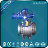 Electric Actuated Flanged Trunnion Mounted Ball Valve