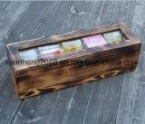 Custom Decorative Wood Tea Box