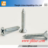 DIN7982 Galvanized Flat Phillips Head Self Tapping Screw