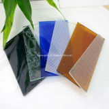 3-6mm Decorative Clear and Colored Patterned Glass