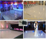 LED White Dance Floor/LED Starlit Twinkling Floor with Wireless Remote Control