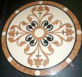 Marble Water-Jet Flooring Tiles Medallion Pattern
