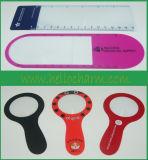 Fashional OEM Customized Plastic Magnifying Glass Bookmark