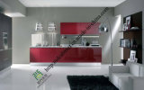 2016 New Design High Gloss UV Integrated Kitchen Cabinet (zs-410)