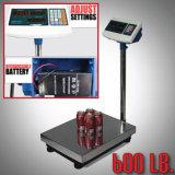 600 Lb Digital Floor Platform Shipping Warehouse Postal Weight Computing Scale (HD0915)