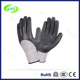 Nitrile Coated Polyester Shell Labor Protective Safety Gloves