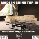 Simple Designed Sectional Leather Sofa (Lz1332b)