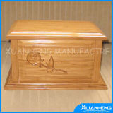 Wooden Funeral Urn Coffin Wooden Urns for Ashes