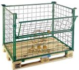 German Type Warehouse Storage Cage