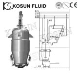 Stainless Steel Multifunctional Herbal Solvent Extractor Tank