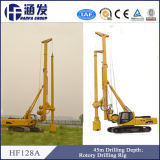 Hf128A Hydraulic Auger Drilling Rig / Pile Driving Machine / Screw Pile Driver