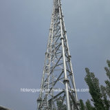 Galvanized Steel Lattice WiFi Telecom Tower