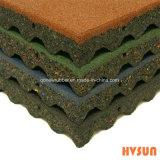Water Proof Golden Supplier Rubber Floor Tile Interlocking Rubber Tiles