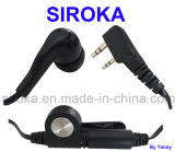 Noodle Cable Handheld Earphone with Mic for Kenwood Tk-240