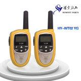 China Professional Manufacturer Mini Size Wireless Interphone/Walkie-Talkie (HY-WT02 YG)