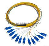 Round Type Sc/Upc Optical Fiber Pigtail