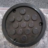 High Quality Round Rubber Pads Rubber Blocks for Car Lifts