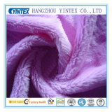 Polyester Short Floss Fabric for Blanket (yintex001)