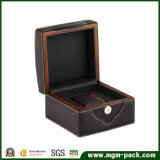New Design PU Leather Wooden Watch Box