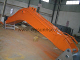 Excavator Spare Parts Standard/Long Reach Boom & Arm for Construction Machinery Parts