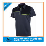 Designer Brand Mens Sweat-Wicking Golf Polo Shirts