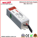 24V 0.63A 15W Waterproof IP67 Constant Voltage LED Power Supply Bg-15-24