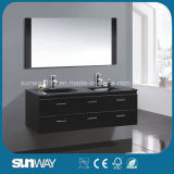 Newest European Furniture MDF Bathroom Cabinet with Mirror