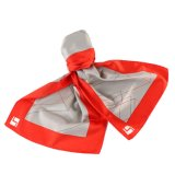 Classic Styles Slim Stripes 100% Silk Printed Logo Scarf Bespoke Uniform Scarf