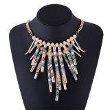 Fashion Tassel Pendant Choker Statement Necklace