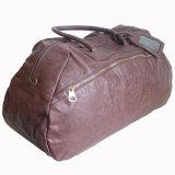 PU Leather Man Travel Handbag Sport Duffle Bag (RS-201439B)
