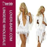 Woman Carnival Halloween Angel Wings Costume (L1172-1)