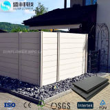 WPC Material Wood Plasticcomposite Garden Fence