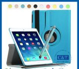 360 Rotation Leather Flip Stand Smart Cover for iPad Air