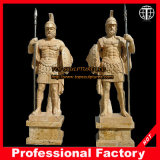 Ancient Warriors Marble Statue Stone Carving Marble Sculpture Itlian Sculpture Hotel Sculpture