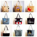 Loving Cartoon Printing Canvas Bags (PA-028)